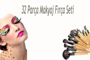 32 Parça Makyaj Fırça Seti